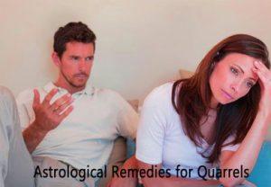 Astrological Remedies for Quarrels