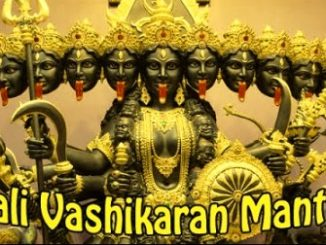 Kali Vashikaran Mantra To Get Your Love Back In Life